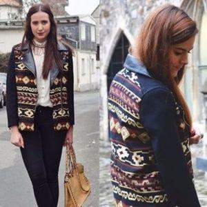Zara Aztec Jacket